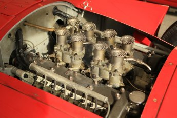 © Octane Photographic 2011 – Goodwood Revival 17th September 2011. Ferrari D50 engine, Historic F1. Digital Ref : 0179cb1d4268