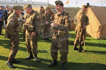 © Octane Photographic 2011 – Goodwood Revival 18th September 2011. Dad's Army display. Digital Ref : 0179cb1d4663