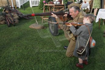 "© Octane Photographic 2011 – Goodwood Revival 18th September 2011. ""This is how you shoot son"". Digital Ref : 0179lw7d7441"