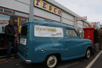 © Octane Photographic 2011 – Goodwood Revival 18th September 2011. Early Tescos home deliveryDigital Ref : 0179lw7d7526