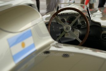 © Octane Photographic 2011 – Goodwood Revival 17th September 2011. Fangio Mercedes W196 streamliner. Digital Ref : 0179CB1D4276