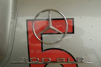 © Octane Photographic 2011 – Goodwood Revival 17th September 2011. Fangio Mercedes 300 SLR. Digital Ref : 0179CB1D4277