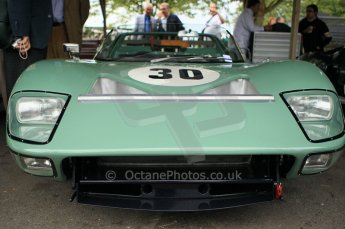 © Octane Photographic 2011 – Goodwood Revival 17th September 2011. Ford GT40 roadster. Digital Ref : 0179CB1D4313