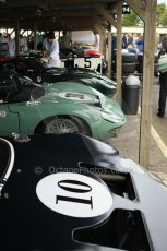 © Octane Photographic 2011 – Goodwood Revival 17th September 2011. Ford GT40 line up. Digital Ref : 0179CB1D4315