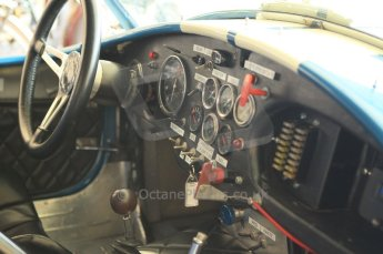 © Octane Photographic 2011 – Goodwood Revival 17th September 2011. Cobra cockpit. Digital Ref : 0179CB1D4328