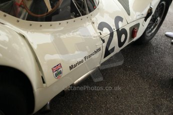 © Octane Photographic 2011 – Goodwood Revival 17th September 2011. Maserati birdcage. Digital Ref : 0179CB1D4364