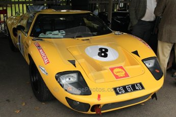 © Octane Photographic 2011 – Goodwood Revival 17th September 2011. Ford GT40. Digital Ref : 0179CB1D4574