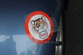 © Octane Photographic 2011 – Goodwood Revival 17th September 2011, Esso - Put a tiger in your tank. Digital Ref : 0179LW7D7322