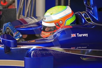 © Octane Photographic 2011. GP2 Official pre-season testing, Barcelona, Tuesday 19th April 2011. Carlin - Oliver Turvey. Digital Ref : 0052CB7D0107