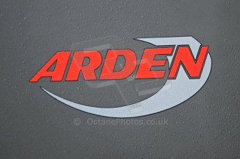 © Octane Photographic 2011. GP2 Official pre-season testing, Silverstone, Tuesday 5th April 2011. Arden logo on transporter. Digital Ref : 0039CB1D6124