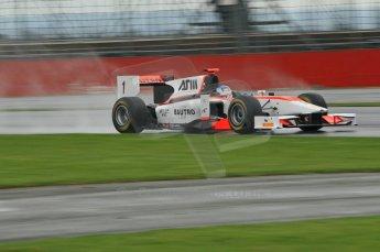 © Octane Photographic 2011. GP2 Official pre-season testing, Silverstone, Tuesday 5th April 2011. Rapax - Fabio Leimer. Digital Ref : 0039CB1D6211