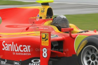 © Octane Photographic 2011. GP2 Official pre-season testing, Silverstone, Tuesday 5th April 2011. Racing Engineering - Christian Vietoris. Digital Ref : 0039CB1D6371
