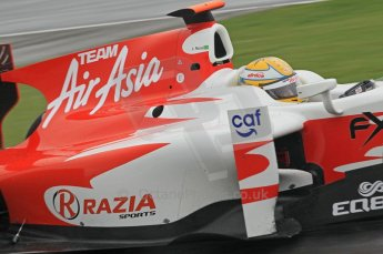 © Octane Photographic 2011. GP2 Official pre-season testing, Silverstone, Tuesday 5th April 2011. Team Air Asia - Luiz Razia. Digital Ref : 0039CB1D6430