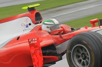 © Octane Photographic 2011. GP2 Official pre-season testing, Silverstone, Tuesday 5th April 2011. Scuderia Coloni - Davide Rigon. Digital Ref : 0039CB1D6438