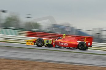 © Octane Photographic 2011. GP2 Official pre-season testing, Silverstone, Tuesday 5th April 2011. Racing Engineering - Christian Vietoris. Digital Ref : 0039CB1D6608
