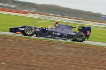 © Octane Photographic 2011. GP2 Official pre-season testing, Silverstone, Tuesday 5th April 2011. Super Nova - Fairuz Fauzi. Digital Ref : 0039CB1D6650