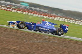 © Octane Photographic 2011. GP2 Official pre-season testing, Silverstone, Tuesday 5th April 2011. Carlon - Max Chilton. Digital Ref : 0039CB1D6654