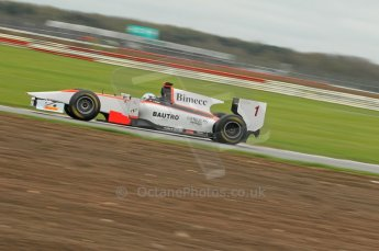 © Octane Photographic 2011. GP2 Official pre-season testing, Silverstone, Tuesday 5th April 2011. Rapax - Fabio Leimer. Digital Ref : 0039CB1D6663