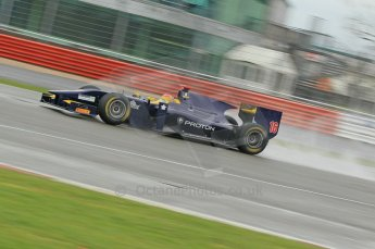 © Octane Photographic 2011. GP2 Official pre-season testing, Silverstone, Tuesday 5th April 2011. Super Nova - Fairuz Fauzi. Digital Ref : 0039CB1D6885