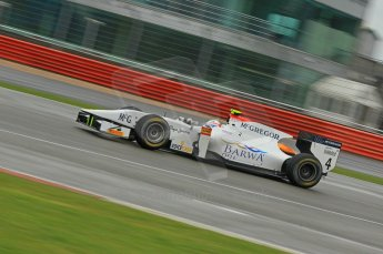 © Octane Photographic 2011. GP2 Official pre-season testing, Silverstone, Tuesday 5th April 2011. Addax - Giedo van der Garde. Digital Ref : 0039CB1D7001