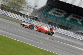 © Octane Photographic 2011. GP2 Official pre-season testing, Silverstone, Tuesday 5th April 2011. Scuderia Coloni - Davide Rigon. Digital Ref : 0039CB1D7065
