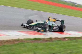© Octane Photographic 2011. GP2 Official pre-season testing, Silverstone, Tuesday 5th April 2011. Lotus Art - Esteban Guiterrez. Digital Ref : 0039CB1D7340