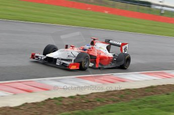 © Octane Photographic 2011. GP2 Official pre-season testing, Silverstone, Tuesday 5th April 2011. Scuderia Colini - Michael Herck. Digital Ref : 0039CB1D7386