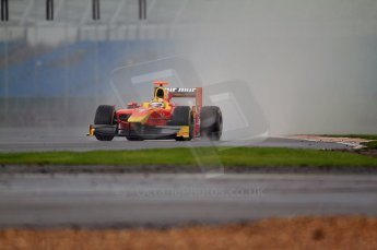 © Octane Photographic 2011. GP2 Official pre-season testing, Silverstone, Tuesday 5th April 2011. Racing Engineering - Dani Clos. Digital Ref : 0039CB7D0083