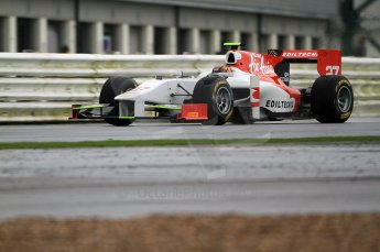 © Octane Photographic 2011. GP2 Official pre-season testing, Silverstone, Tuesday 5th April 2011. Team Air Asia - Davide Valsecchi. Digital Ref : 0039CB7D0155