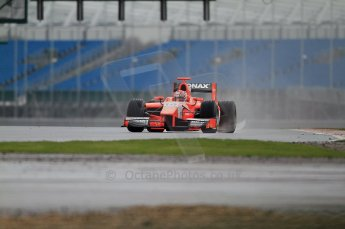 © Octane Photographic 2011. GP2 Official pre-season testing, Silverstone, Tuesday 5th April 2011. Arden - Josef Kral. 0039Digital Ref : CB7D0168