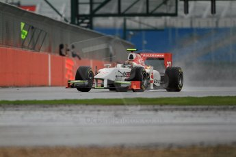 © Octane Photographic 2011. GP2 Official pre-season testing, Silverstone, Tuesday 5th April 2011. Team Air Asia - Davide Valsecchi. Digital Ref : 0039CB7D0194