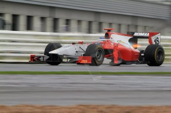 © Octane Photographic 2011. GP2 Official pre-season testing, Silverstone, Tuesday 5th April 2011. Scuderia Colini - Michael Herck. Digital Ref : 0039CB7D0341