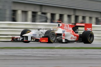 © Octane Photographic 2011. GP2 Official pre-season testing, Silverstone, Tuesday 5th April 2011. Team Air Asia - Luiz Razia. Digital Ref : 0039CB7D0370