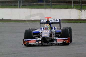 © Octane Photographic 2011. GP2 Official pre-season testing, Silverstone, Tuesday 5th April 2011. Trident - Rodolfo Gonzales. Digital Ref : 0039CB7D0371