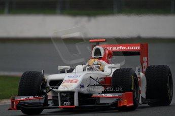 © Octane Photographic 2011. GP2 Official pre-season testing, Silverstone, Tuesday 5th April 2011. Team Air Asia - Luiz Razia. Digital Ref : 0039CB7D0477