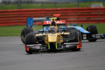 © Octane Photographic 2011. GP2 Official pre-season testing, Silverstone, Tuesday 5th April 2011.  DAMS - Pal Varhaug. Digital Ref : 0039CB7D0578