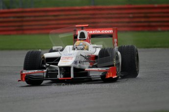 © Octane Photographic 2011. GP2 Official pre-season testing, Silverstone, Tuesday 5th April 2011. Team Air Asia - Luiz Razia. Digital Ref : 0039CB7D0614