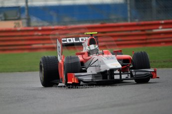 © Octane Photographic 2011. GP2 Official pre-season testing, Silverstone, Tuesday 5th April 2011. Scuderia Coloni - Davide Rigon. Digital Ref : 0039CB7D0651