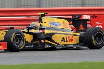 © Octane Photographic 2011. GP2 Official pre-season testing, Silverstone, Tuesday 5th April 2011. DAMS - Pal Varhaug. Digital Ref : 0039CB7D0948
