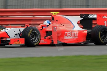 © Octane Photographic 2011. GP2 Official pre-season testing, Silverstone, Tuesday 5th April 2011. Arden - Jolyon Palmer. Digital Ref : 0039CB7D0962