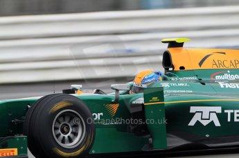 © Octane Photographic 2011. GP2 Official pre-season testing, Silverstone, Tuesday 5th April 2011. Lotus Art - Esteban Gutierez. Digital Ref : 0039CB7D0999