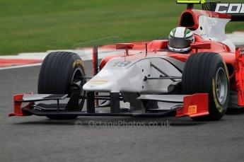© Octane Photographic 2011. GP2 Official pre-season testing, Silverstone, Tuesday 5th April 2011. Scuderia Coloni - Davide Rigon. Digital Ref : 0039CB7D1167