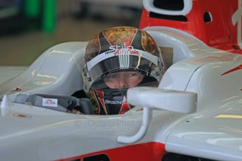 © Octane Photographic 2011. GP2 Official pre-season testing, Silverstone, Wednesday 6th April 2011. Team Air Asia - Davide Valsecchi. Digital Ref : 0040CB1D7693