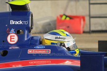 © Octane Photographic 2011.  GP2 Official pre-season testing, Silverstone, Wednesday 6th April 2011. iSport - Marcus Ericsson. Digital Ref : 0040CB1D7718