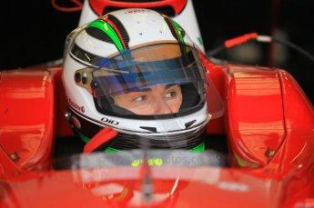 © Octane Photographic 2011. GP2 Official pre-season testing, Silverstone, Wednesday 6th April 2011. Scuderia Coloni - Davide Rigon. Digital Ref : 0040CB1D7892