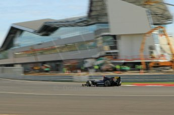 © Octane Photographic 2011. GP2 Official pre-season testing, Silverstone, Wednesday 6th April 2011. Super Nova - Fairuz Fauzi. Digital Ref : 0040CB1D8017