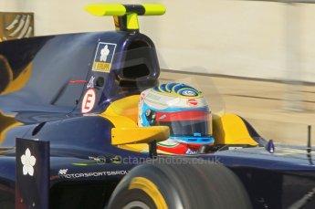 © Octane Photographic 2011. GP2 Official pre-season testing, Silverstone, Wednesday 6th April 2011. Super Nova - Luca Filippi. Digital Ref : 0040CB1D8052
