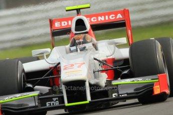 © Octane Photographic 2011. GP2 Official pre-season testing, Silverstone, Wednesday 6th April 2011. Team Air Asia - Davide Valsecchi. Digital Ref : 0040CB7D1518