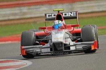 © Octane Photographic 2011. GP2 Official pre-season testing, Silverstone, Wednesday 6th April 2011. Scuderia Coloni - Davide Rigon. Digital Ref : 0040CB7D1708
