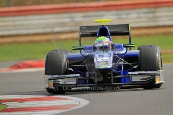 © Octane Photographic 2011. GP2 Official pre-season testing, Silverstone, Wednesday 6th April 2011. Carlin - Oliver Turvey. Digital Ref : 0040CB7D1917